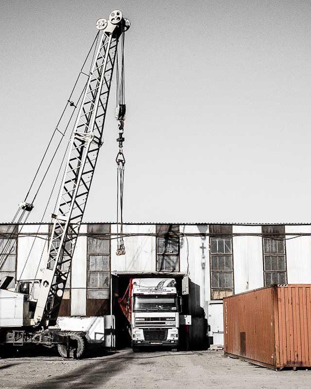 перевалка и обработка грузов